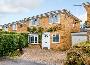 Thumbnail 4 bed detached house for sale in Tickenor Drive, Finchampstead, Wokingham