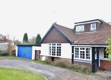 Thumbnail 4 bed bungalow to rent in Oakdene Road, Sevenoaks