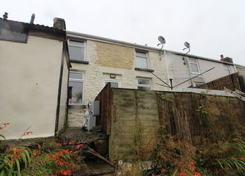 Thumbnail 1 bed terraced house for sale in Hafod Fan Terrace, Six Bells, Abertillery