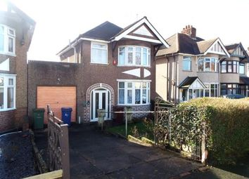 Thumbnail 3 bed detached house for sale in Lower Road, Hednesford, Cannock, Staffordshire