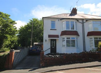 Thumbnail 3 bed semi-detached house for sale in Westernmoor Road, Cimla, Neath