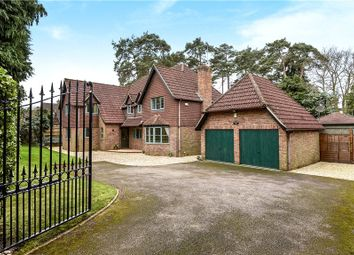 Thumbnail 5 bed detached house for sale in Crawley Ridge, Camberley, Surrey