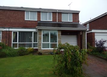 Thumbnail 4 bed semi-detached house for sale in Irthing, Ellington, Morpeth