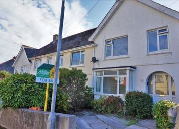Thumbnail 3 bed semi-detached house for sale in Falmouth, Cornwall