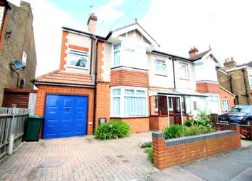 Thumbnail 4 bed semi-detached house for sale in Clarendon Road, Ashford