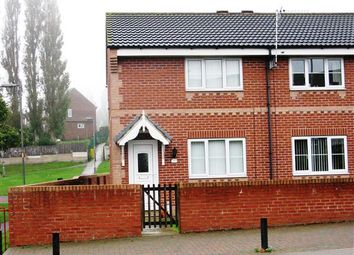 Thumbnail 2 bed town house to rent in Barnsley Road, Hemsworth, Pontefract