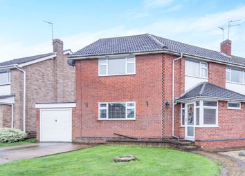 Thumbnail 4 bedroom semi-detached house for sale in Winslow Drive, Wigston