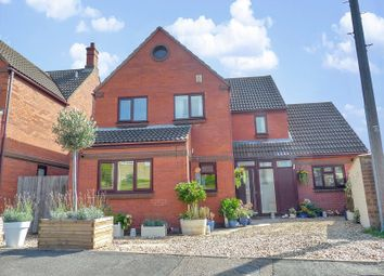 Thumbnail 4 bed detached house for sale in Abbott Way, Yaxley, Peterborough