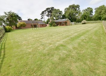 Thumbnail 3 bed detached bungalow for sale in Church Lane, Gaddesby, Leicester, Leicestershire