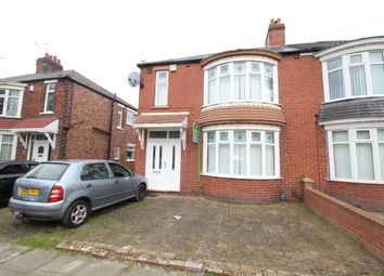 Thumbnail 3 bedroom semi-detached house for sale in Harrow Road, Middlesbrough