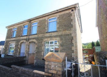 Thumbnail 2 bed semi-detached house for sale in Commercial Road, Machen, Caerphilly