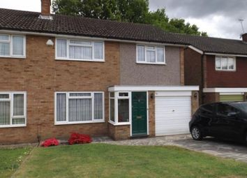 Thumbnail 3 bed semi-detached house for sale in Woolhampton Way, Chigwell