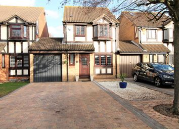 Thumbnail 3 bedroom link-detached house to rent in Jacobs Avenue, Romford
