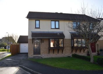 Thumbnail 3 bed semi-detached house for sale in Wyllie Court, North Worle, Weston-Super-Mare