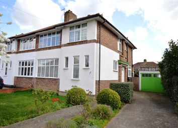 Thumbnail 3 bed semi-detached house for sale in Malden Green Avenue, Worcester Park