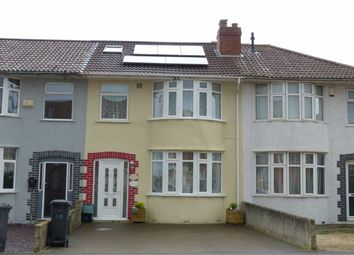 Thumbnail 3 bed terraced house for sale in Birchwood Road, Bristol