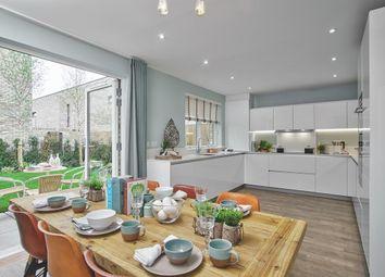Thumbnail 4 bedroom end terrace house for sale in Aura Development, Off Long Road, Trumpington, Cambridge