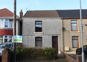 Thumbnail 2 bedroom terraced house for sale in Roger Street, Treboeth, Swansea
