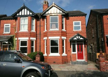 Thumbnail 3 bed semi-detached house to rent in Brook Lane, Timperley, Altrincham