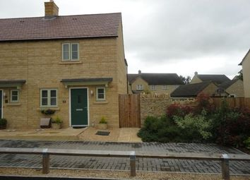 Thumbnail 2 bed semi-detached house to rent in Barnsley Way, Bourton-On-The-Water, Cheltenham