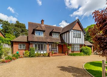 Thumbnail 4 bed detached house for sale in Woodlands Close, Ottershaw, Chertsey