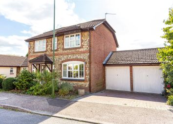 Thumbnail 4 bed detached house for sale in Quail Close, Horsham, West Sussex