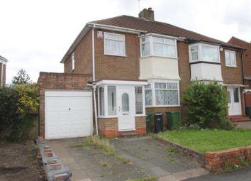 Thumbnail 3 bed semi-detached house to rent in Summerfields Avenue, Halesowen, Hurst Green, West Midlands