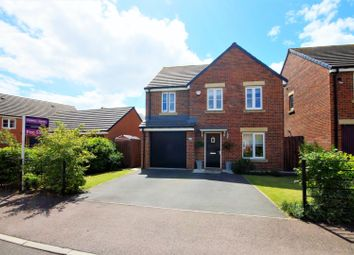 Thumbnail 4 bed detached house for sale in Harle Oval, Durham