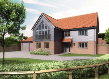 Thumbnail 4 bed detached house for sale in Plot 23, Barn Owl Close, Off Station Road, Reedham