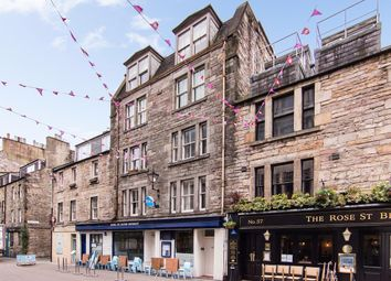 Thumbnail 1 bed flat for sale in Rose Street, New Town, Edinburgh