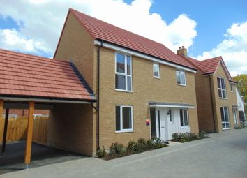Thumbnail 3 bedroom detached house to rent in Arthur Maybury Close, Ashford