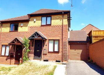 Thumbnail 2 bed semi-detached house for sale in Silverburn Drive, Oakwood, Derby