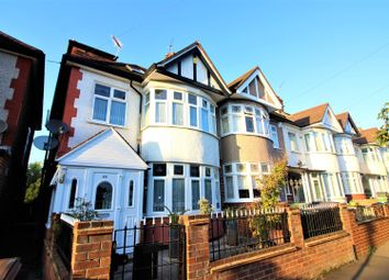 Thumbnail 4 bed end terrace house for sale in Greenway Avenue, London