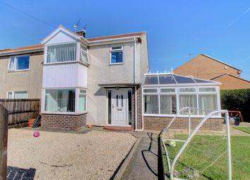 Thumbnail 3 bed semi-detached house for sale in St. Johns Estate, Hadston, Amble