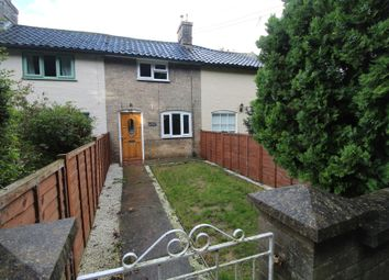 Thumbnail 2 bed terraced house to rent in Church Road, Tostock, Bury St. Edmunds