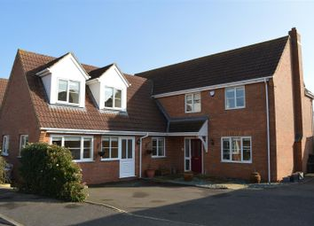 Thumbnail 6 bed detached house for sale in Larch Close, Ruskington, Sleaford