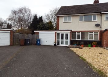Thumbnail 3 bed property to rent in St Johns Close, Lichfield