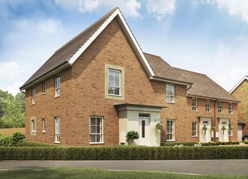 "Thumbnail 4 bed detached house for sale in ""Lincoln"" at Lady Margaret Road, Ifield, Crawley"