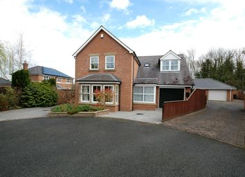 Thumbnail 4 bed detached house for sale in Rough Lea Colliery, Hunwick, Crook