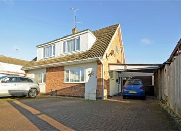 Thumbnail 2 bed semi-detached house for sale in 2 Oakleigh Close, Raunds, Northamptonshire