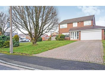 Thumbnail 4 bed detached house for sale in Bleasdale Close, Bolton
