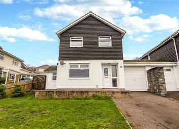 Thumbnail 4 bed link-detached house for sale in Oakfield Drive, Crickhowell, Powys
