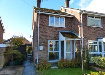 Thumbnail 2 bedroom semi-detached house for sale in Cedar Close, Ashbourne, Derbyshire