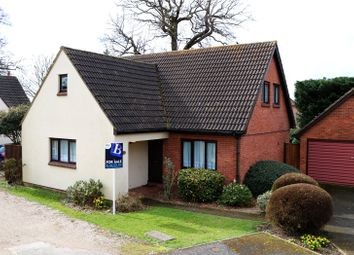 Thumbnail 3 bed detached house for sale in Brookdale Close, Upminster