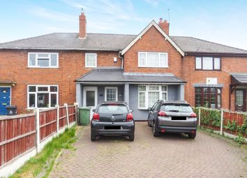 Thumbnail 2 bed terraced house for sale in Chestnut Road, Walsall