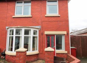 Thumbnail 3 bed end terrace house for sale in Oak Avenue, Blackpool
