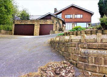 Thumbnail 4 bed detached house for sale in Shaw Road, Newhey