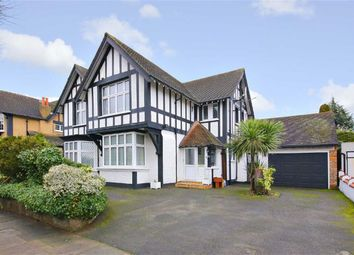 Thumbnail 5 bed detached house for sale in Abbey Road, Bush Hill Park, Middlesex