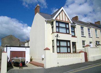 Thumbnail 3 bed end terrace house for sale in Cromwell Road, Hubberston, Milford Haven
