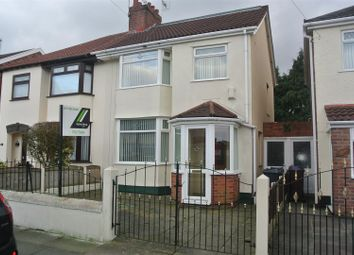 Thumbnail 4 bed semi-detached house for sale in Merton Drive, Huyton, Liverpool